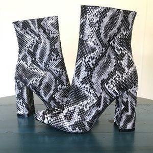 Blake Snake High Point Ankle Boot